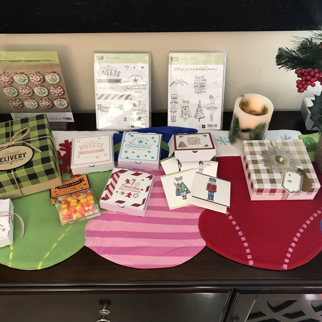 2017 Holiday Catalog Launch Party, Stampin' Up!, Be Merry Ornament Kit and gift ideas