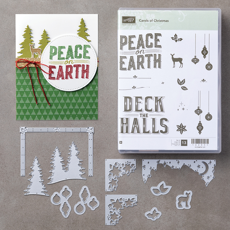 Carols of Christmas bundle by Stampin' Up! #stampcandy