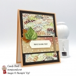 Why, Thank You card made with Gourd Goodness stamp set, Painted Autumn DSP, Everyday Label Punch, 2017 Holiday Catalog sneak peek, Stampin