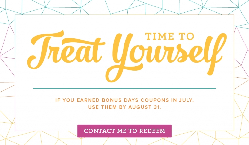 Redeem your Bonus Days Coupons by August 31, 2107. Stampin' Up! #stampcandy