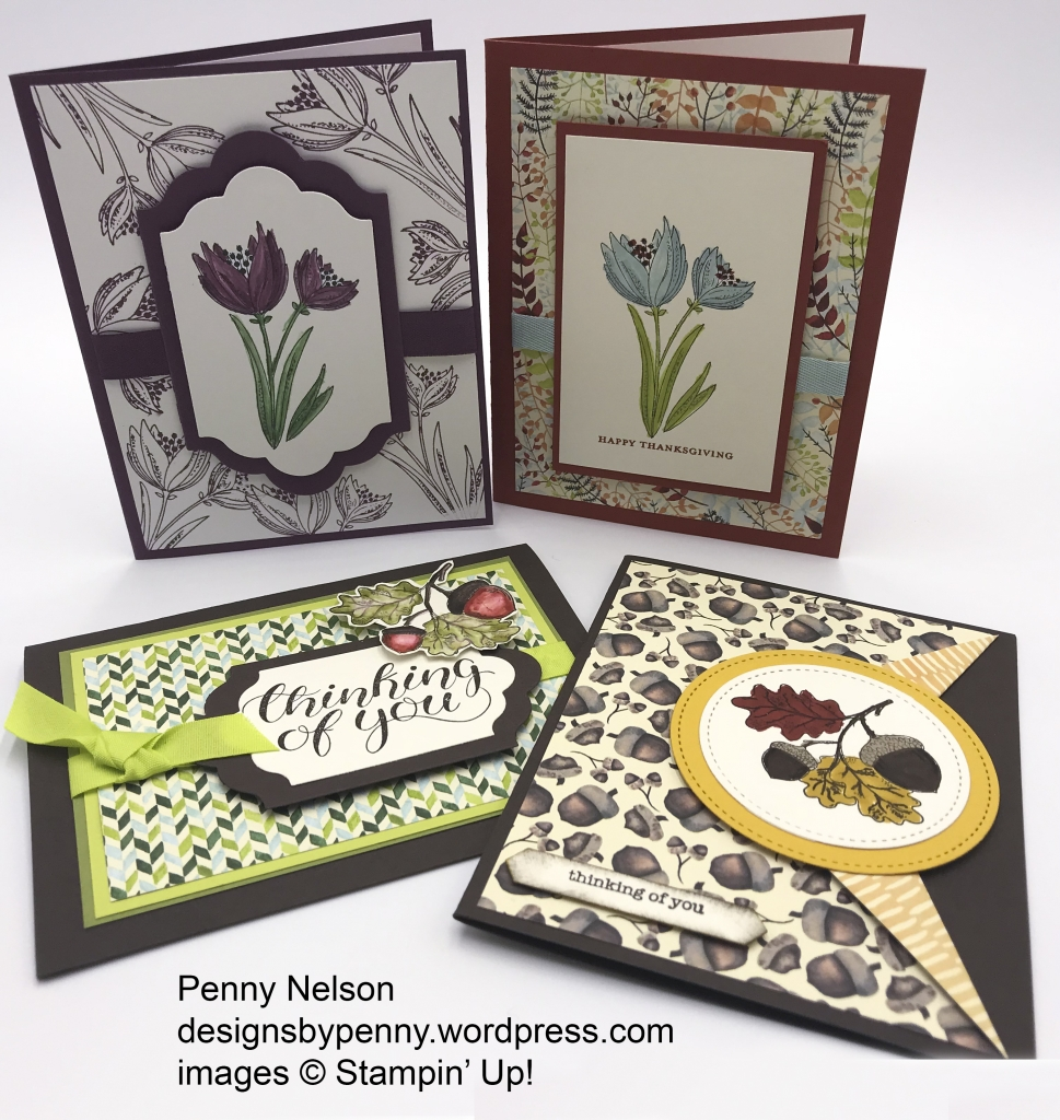 Rising Star swaps by Penny Nelson, Count My Blessings stamp set by Stampin' Up!