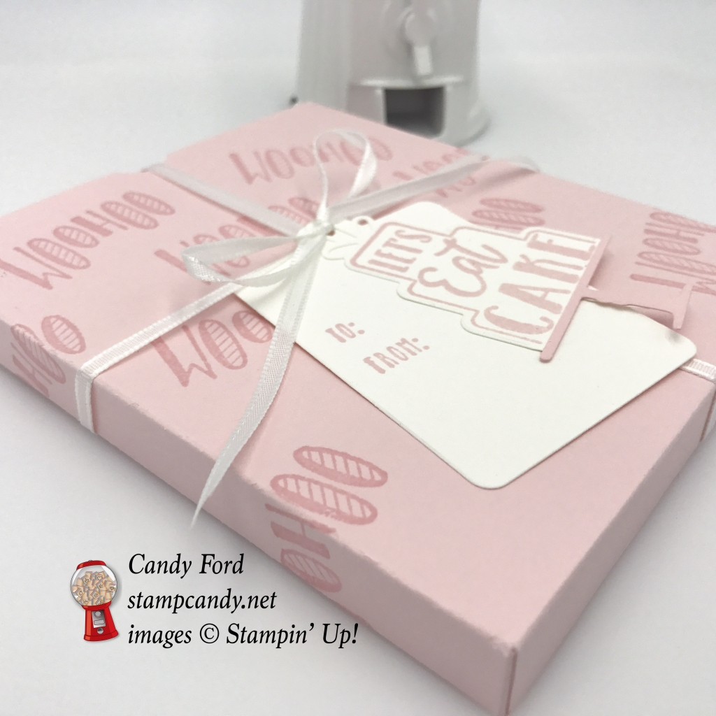 Celebration Time stamp set by Stampin Up, let's eat cake #stampcandy