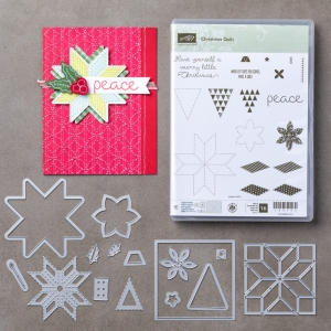 Christmas Quilt Bundle © Stampin' Up!