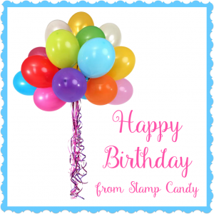 Happy Birthday from Stamp Candy