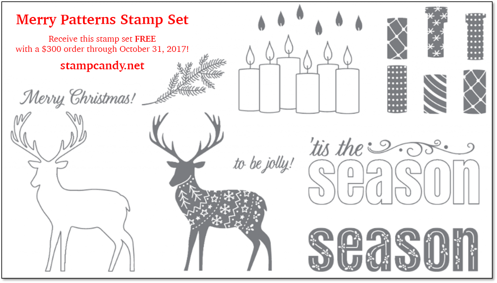 Merry Patterns stamp set by Stampin' Up!