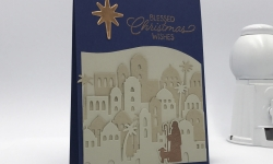 Night of Bethlehem bundle card #4 for Rising Stars swap, Stampin' Up! #stampcandy