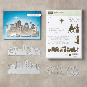 Night of Bethlehem Bundle by Stampin' Up! #stampcandy