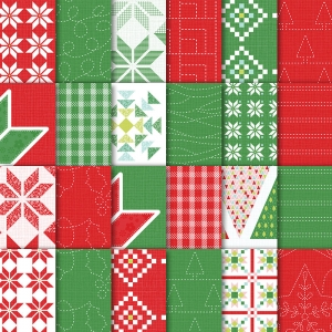 Quilted Christmas DSP by Stampin' Up!