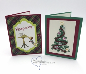 Rising Star swaps, Sherri Brown, Ready for Christmas bundle, Stampin' Up!