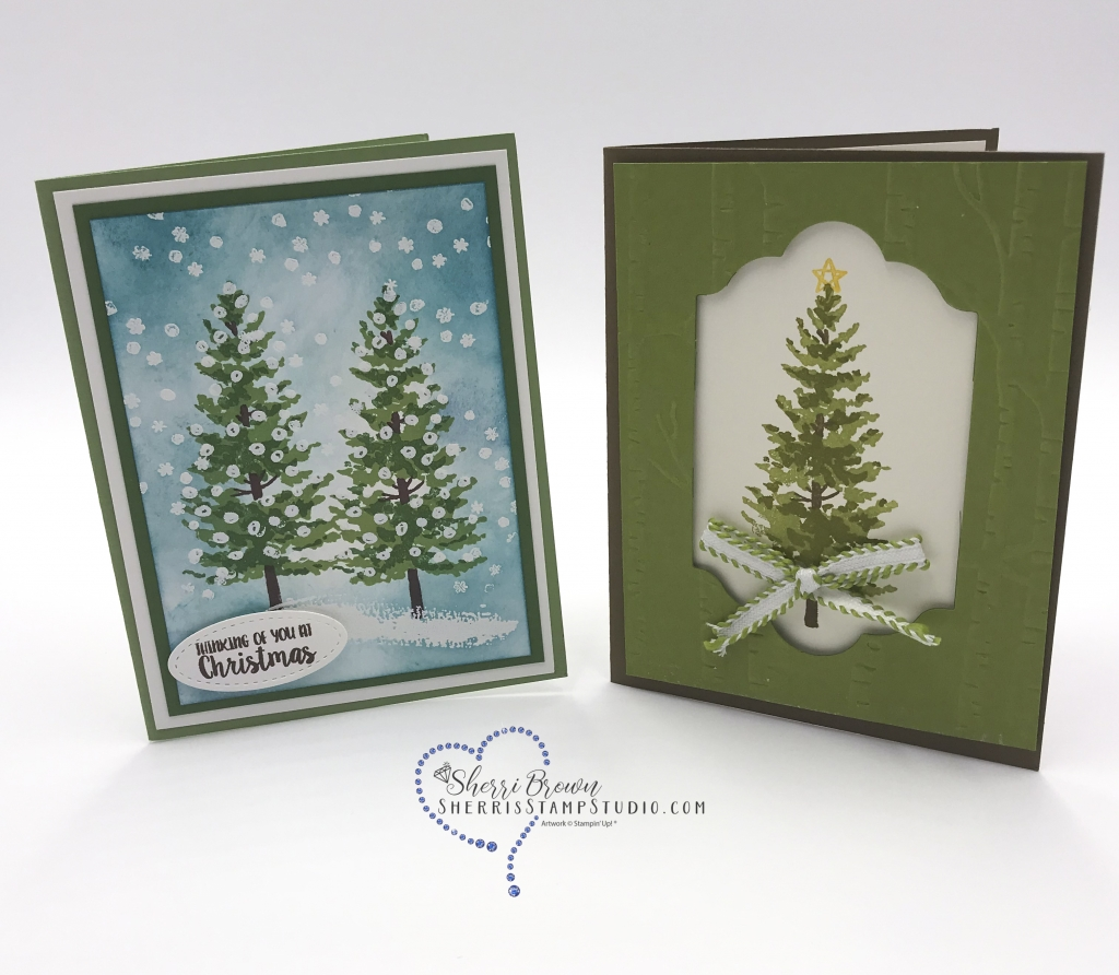 Rising Star swaps, Sherri Brown, Season Like Christmas bundle by Stampin' Up!