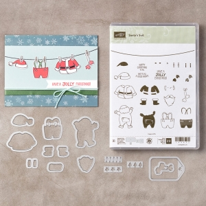 Santa's Suit Bundle © Stampin' Up!