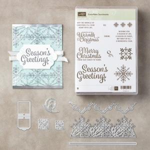 Snowflakes Sentiments Bundle © Stampin' Up!