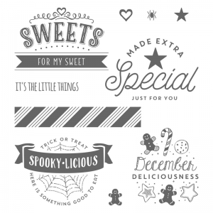 The Little Things stamp set by Stampin'Up! #stampcandy