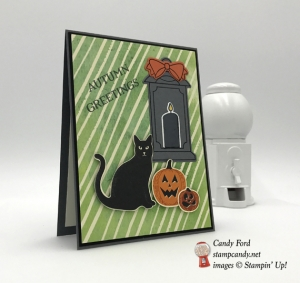 spooky cat stampin