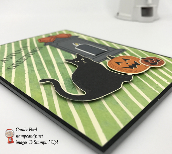 spooky cat stampin' up autumn greetings halloween card by stamp candy