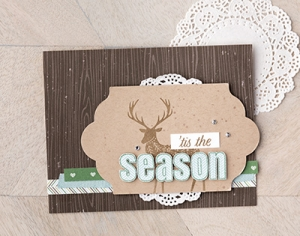 Merry Patterns free stamp set promotion from Stampin' Up! #stampcandy