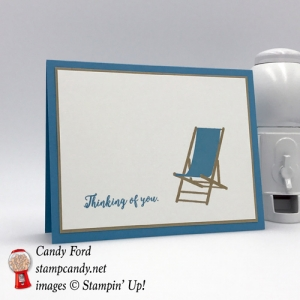 Thinking of You card for hurricane harvey and irma victims Stamp Candy will be donating 20% of sales to the Red Cross Relief Fund for their benefit