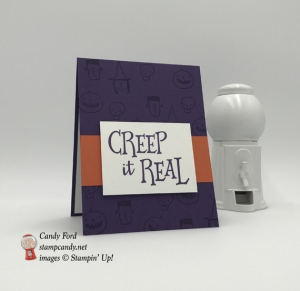 Creep It Real handmade Stampin