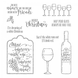 Half Full stamp set by Stampin' Up!