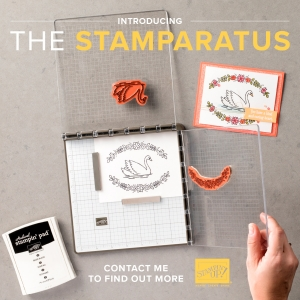 Stamparatus Class with Stamp Candy