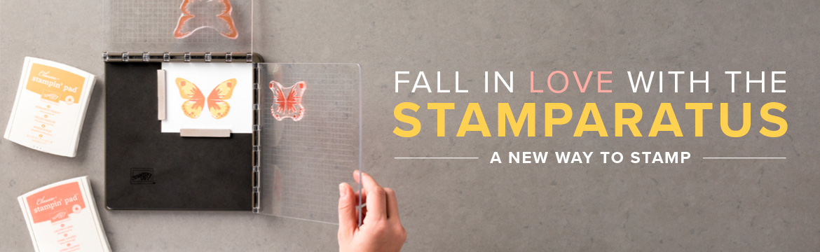 coming soon - order your Stampin' Up! Stamparatus from Stamp Candy