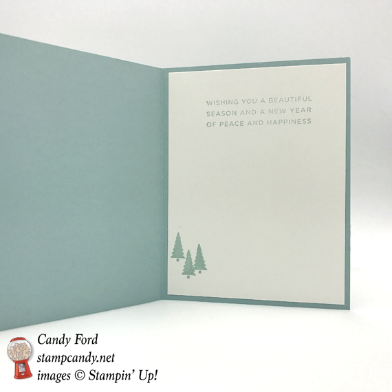 Stampin' Up! hearts come home hometown greeting christmas card by Candy Ford of Stamp Candy