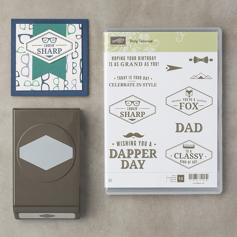 Truly Tailored Bundle © Stampin' Up!