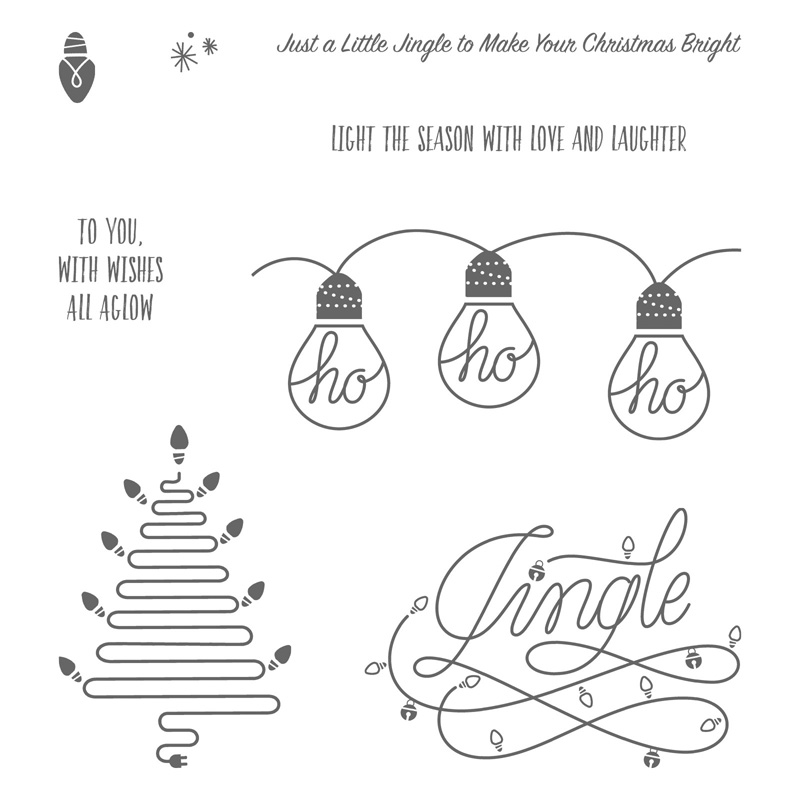 Wishes All Aglow Stamp Set by Stampin' Up! #stampcandy