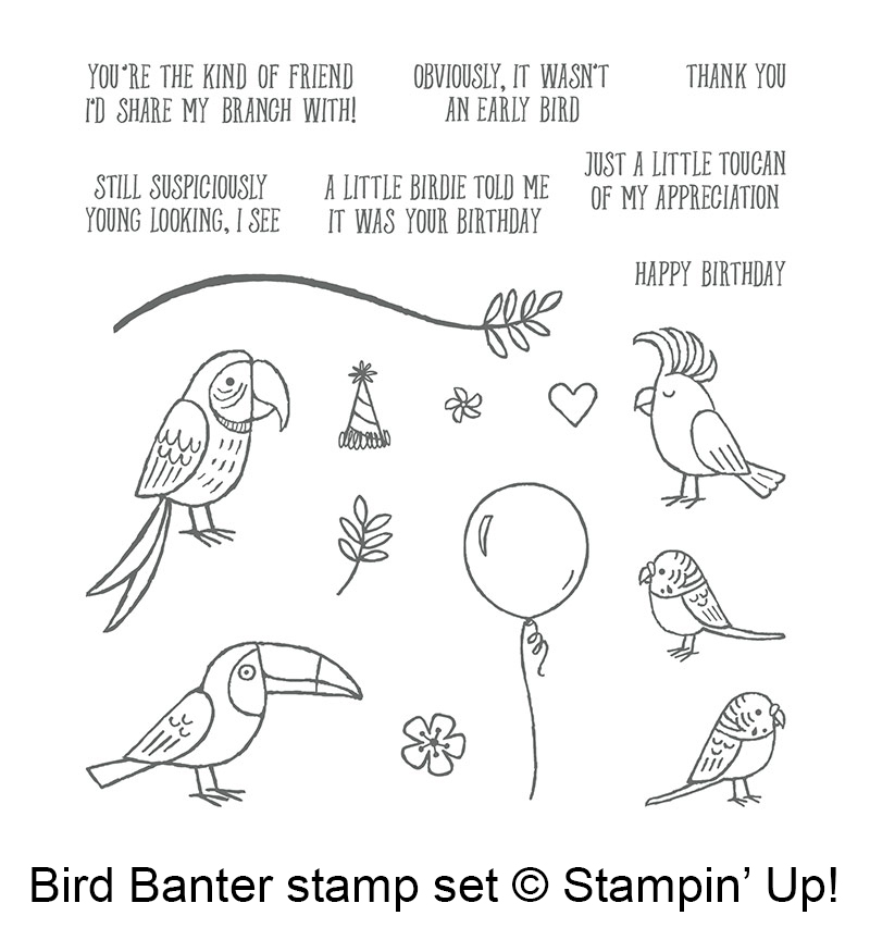Bird Banter Stamp Set © Stampin' Up!