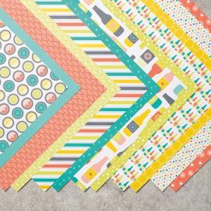 Bubbles & Fizz Designer Series Paper © Stampin' Up!