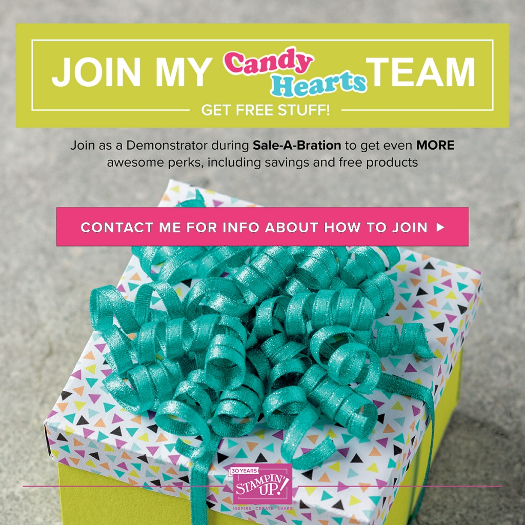 Join the Candy Hearts and get free stuff! #stampcandy