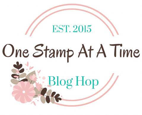 One Stamp at a Time Blog Hop header