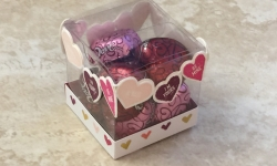 Sure Do Love You, Painted Love box for OSAT blog hop, Feb 2018 #stampcandy