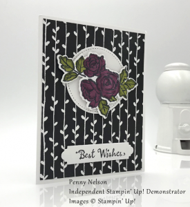 stampin up petal palette best wishes by penny nelson for stamp candy handmade card