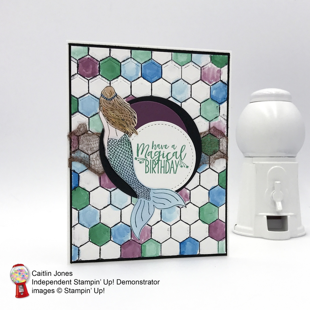 Stampin' Up! Magical Mermaid card mady by Candy Heart, Caitlin for Stamp Candy