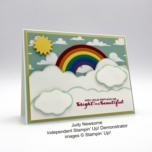 Cute card made by Judy Newsome, Independent Stampin