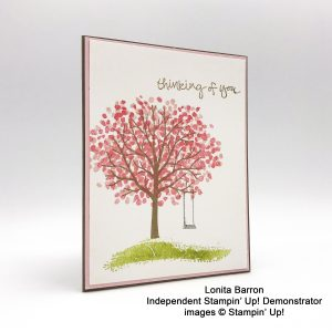 Lonita Barron, Candy Hearts, Sheltering Tree stamp set, sympathy card #stampcandy