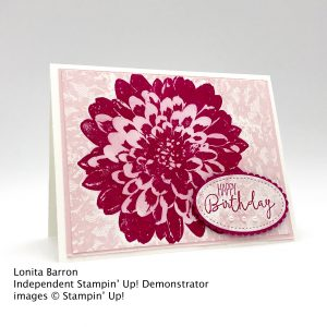 Happy Birthday card made with Stampin