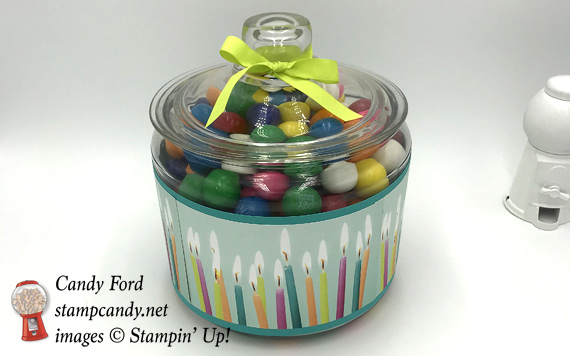 Stampin' Up! handmade baby shower bingo by Candy Ford of Stamp Candy