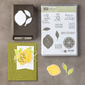 Lemon Zest Bundle © Stampin' Up!