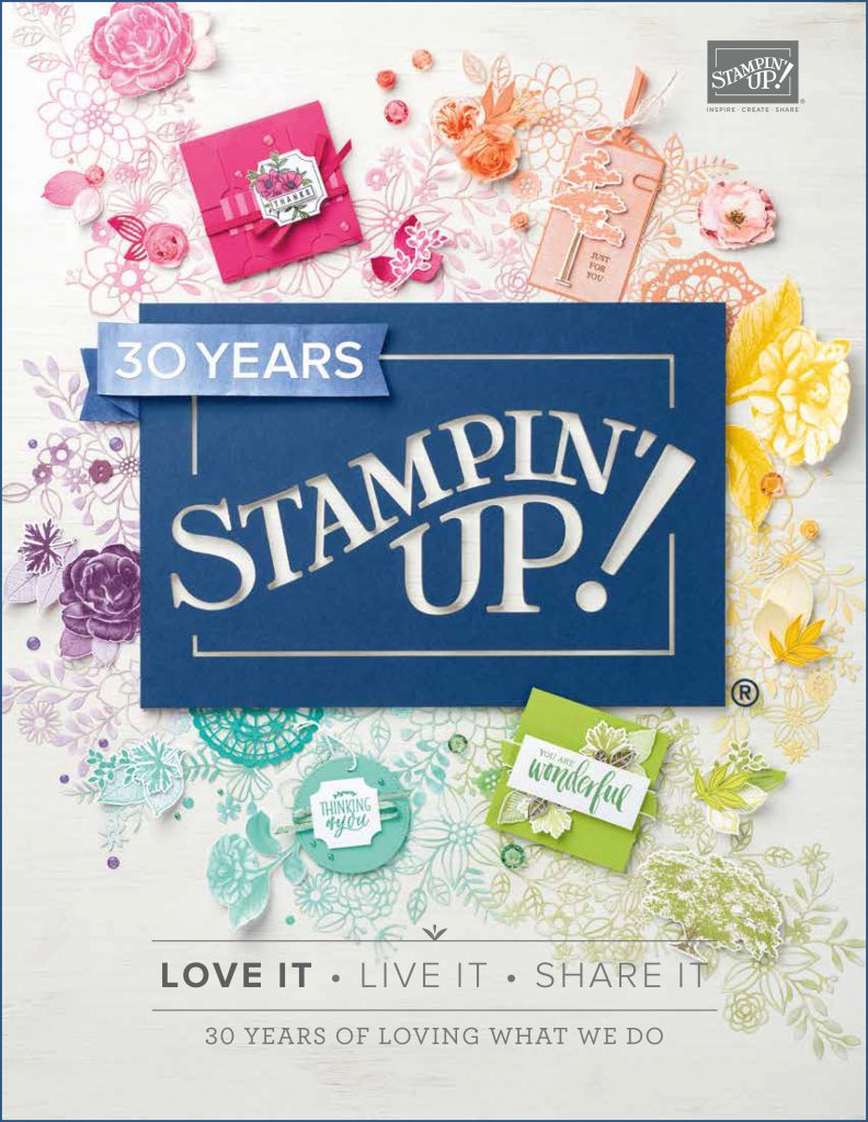 2018-2019 Stampin' Up! Annual Catalog #stampcandy