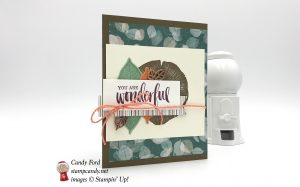 Happy Birthday card, Stampin
