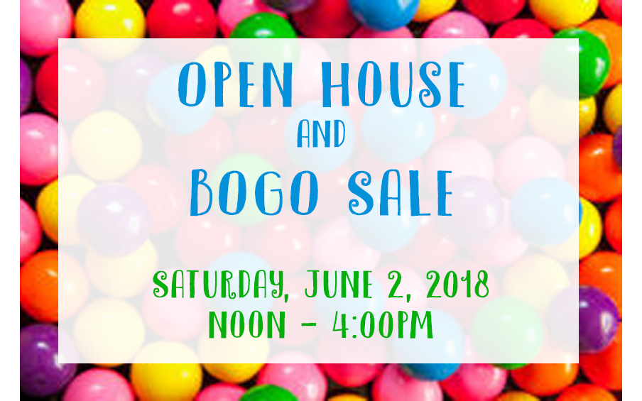 Open House & BOGO Sale #stampcandy