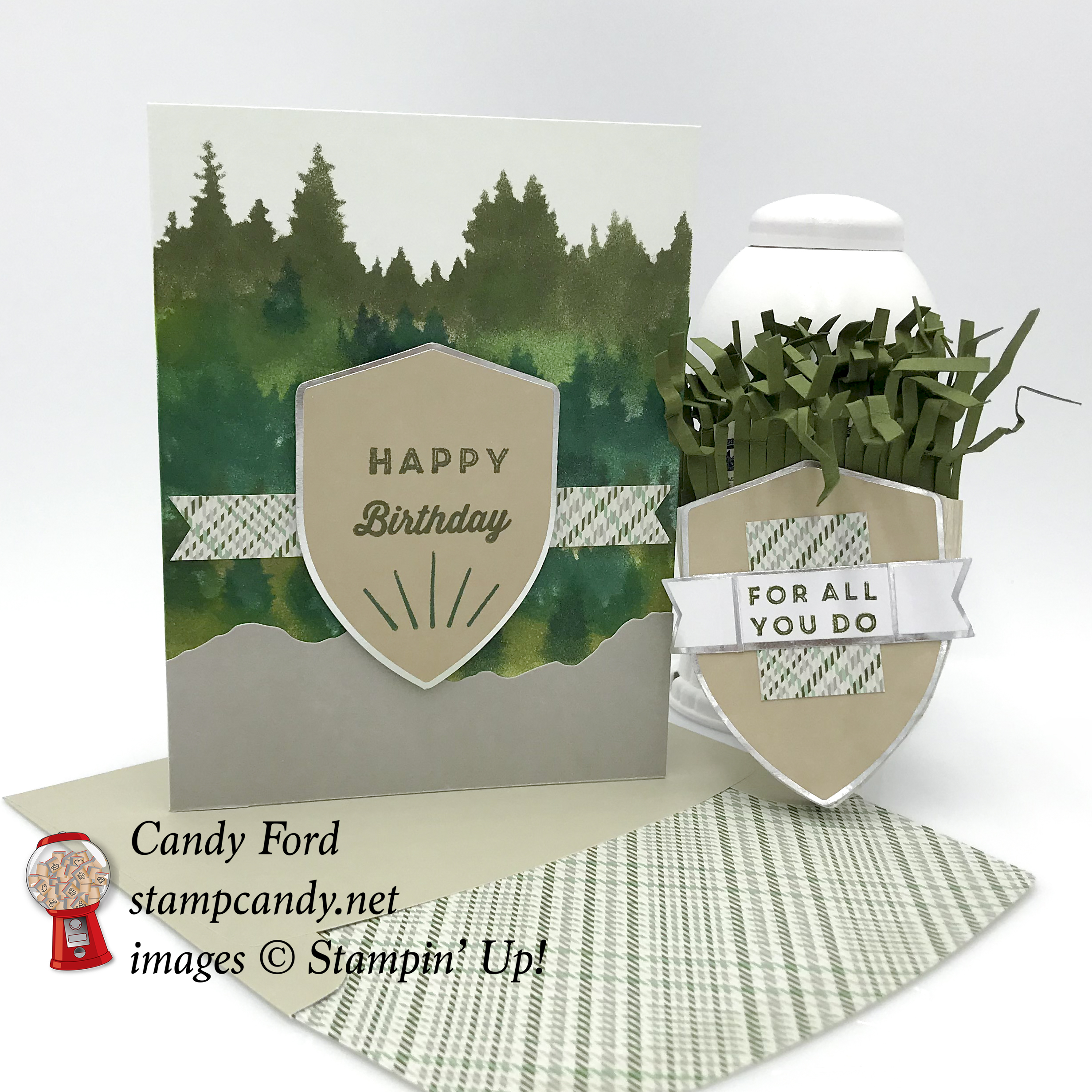 Manly Moments May 2018 Paper Pumpkin kit alternate projects for APPT Blog Hop #stampcandy