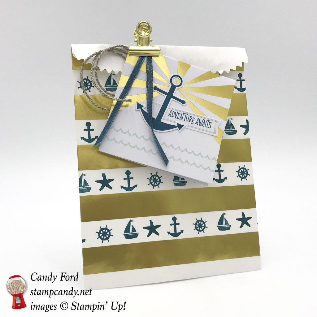 Paper Pumpkin April, You Are My Anchor, alternate project ideas, #stampcandy