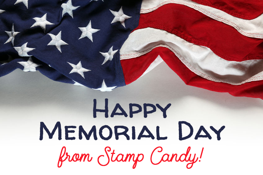 Happy Memorial Day from #StampCandy