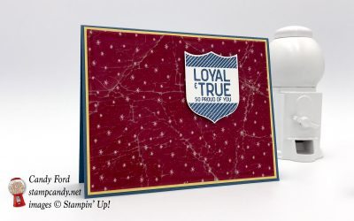 Loyal & True Stamp Set, Be Merry DSP, & Cracked Ice