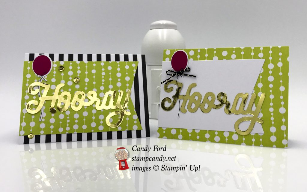 cards and box, June 2018 Paper Pumpkin for APPT Blog Hop, Stampin' Up! #stampcandy