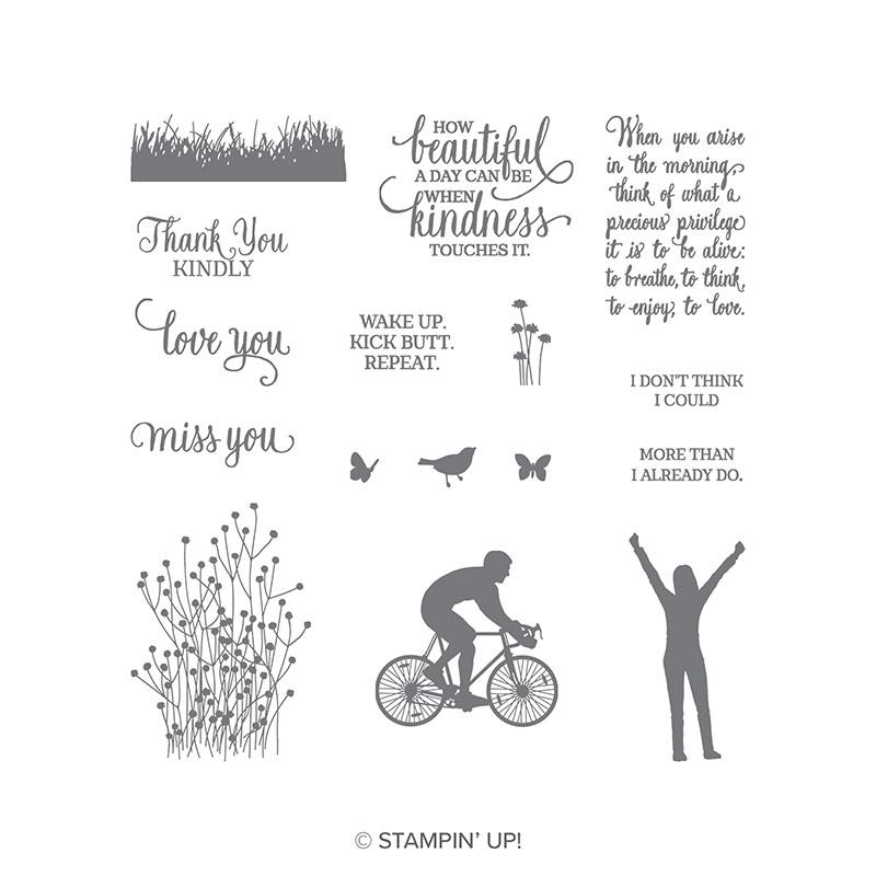 Enjoy Life Stamp Set © Stampin' Up!