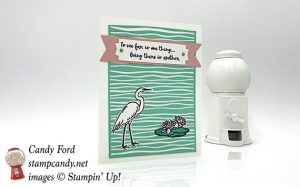 Stampin Up Lily Pad Lake handmade card by Candy Ford of Stanp Candy